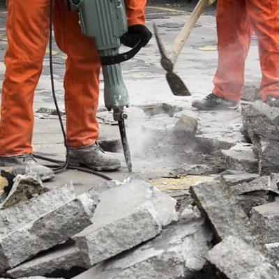 cocrete demolition